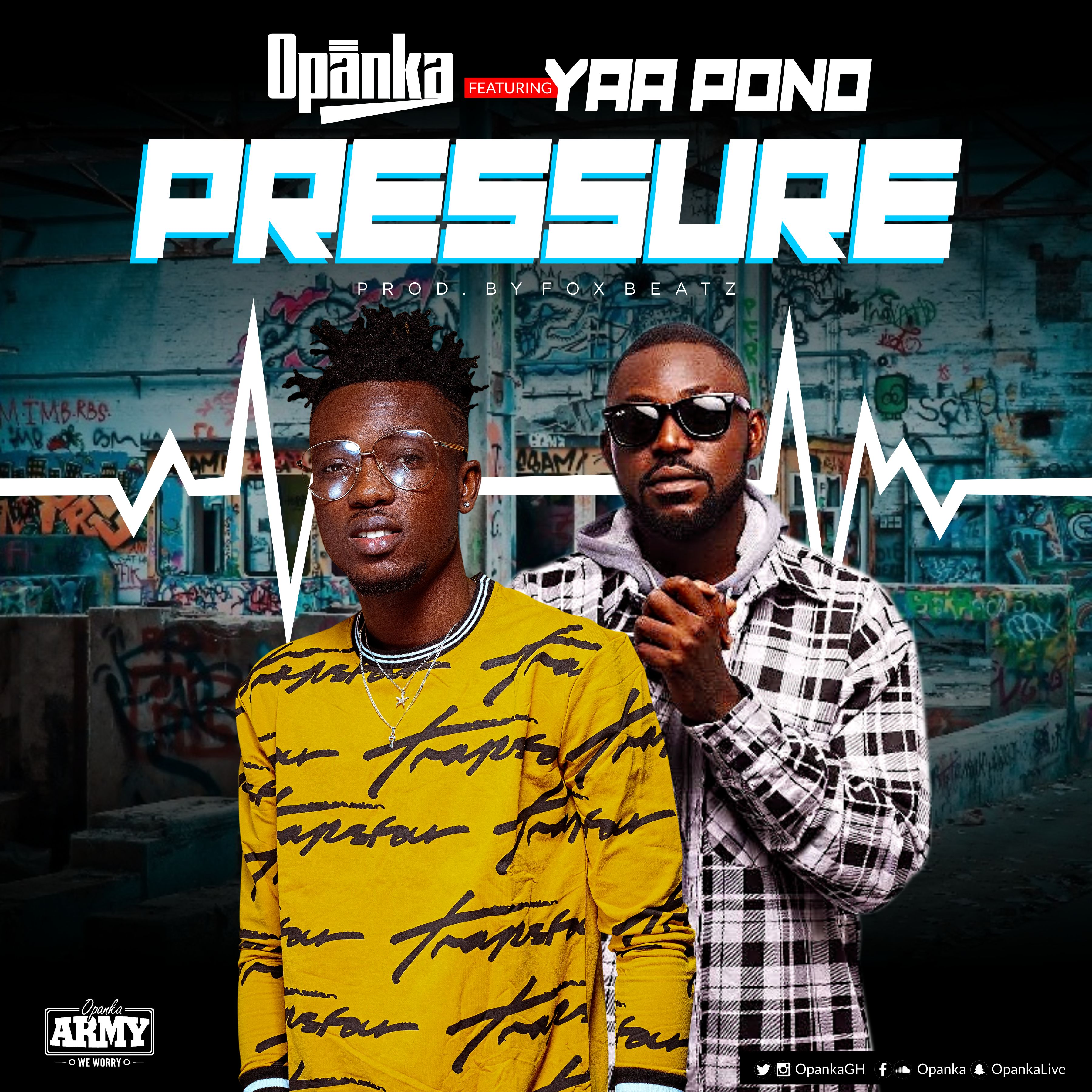 """Opanka joins heads with Yaa Pono to release this new song """"Pressure"""". It talks about how people put pressure on themselves by looking at what others do, its a song […]"""