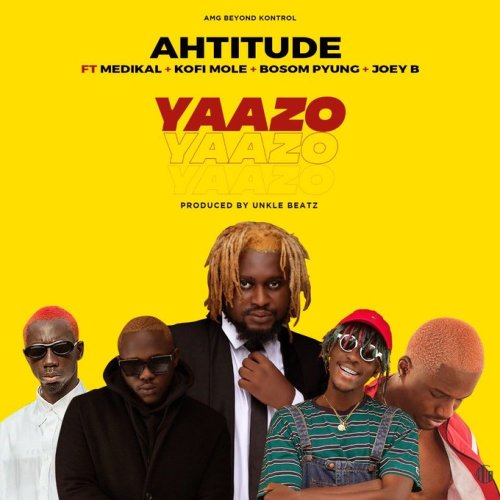 "AMG Business signed act, Ahtitude recruits Bosom B-Yung, Kofi Mole, Joey B and his label mate, Medikal on this brand new Hip-Hop joint titled ""Yaazo"". This potential street Hip-Hop jam […]"
