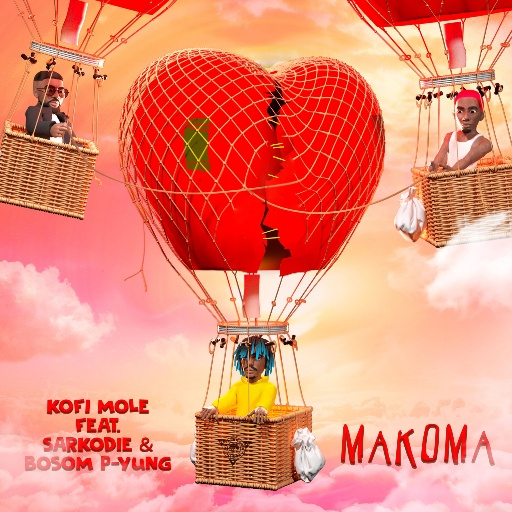 "Ghanaian talented singer and rapper, Kofi Mole releases the much awaited banger titled ""Makoma"" the new song features Ghanaian heavyweight rapper and Sarkcess music huncho, Sarkodie alongside ""Ataa Dwoa"" crooner, […]"