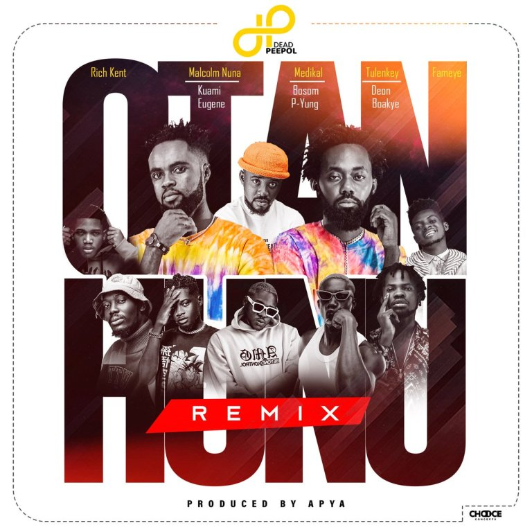 Dead Peepol and Rich Kent teams up with Malcolm Nuna, Kuami Eugene, Medikal, Bosom P-Yung, Tulenkey, Deon Boakye & Fameye to released the melodious remix to their smash single tagged […]