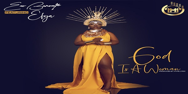 off the Ladies first album which is set to drop early next year,female rapper ENO BARONY Drops the first single off the album tagged GOD IS A WOMAN which features […]